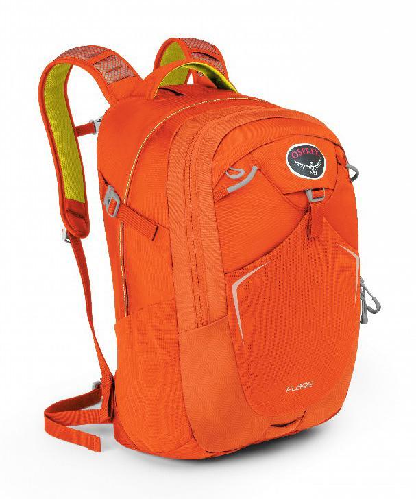Рюкзак Flare 22Туристические, треккинговые<br><br> Как уместить все нужные в повседневной жизни вещи в одном месте? Легко, если у вас есть универсальный рюкзак Osprey Flare 22. Он вместительный, яркий и очень удобный.<br><br><br> Особенности<br><br><br>Рюкзак выполнен из прочных, уст...<br><br>Цвет: Оранжевый<br>Размер: 22 л
