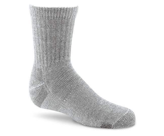 Носки детские 2900 WICK DRY HIKERНоски<br>Благодаря прекрасному сочетанию нейлона, Spandex и технологии Wick Dry®, носки плотно облегают ногу и создают максимальный комфорт.<br><br><br>Легкая тонкая вязка в подъеме ноги предотвращает образование складок<br>Специальная конструкци...<br><br>Цвет: Серый<br>Размер: S