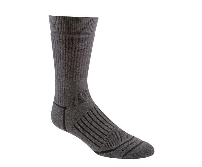 Носки турист.2454 PIONEER CREWНоски<br><br> Носки из мягкой мериносовой шерсти прекрасно впитывают влагу и сохранят ваши ноги в комфорте при любых температурах. Специальная вязка обеспечивает идеальную посадку и предотвращает образование складок.<br><br><br>Специальные вентилируемые в...<br><br>Цвет: Коричневый<br>Размер: L