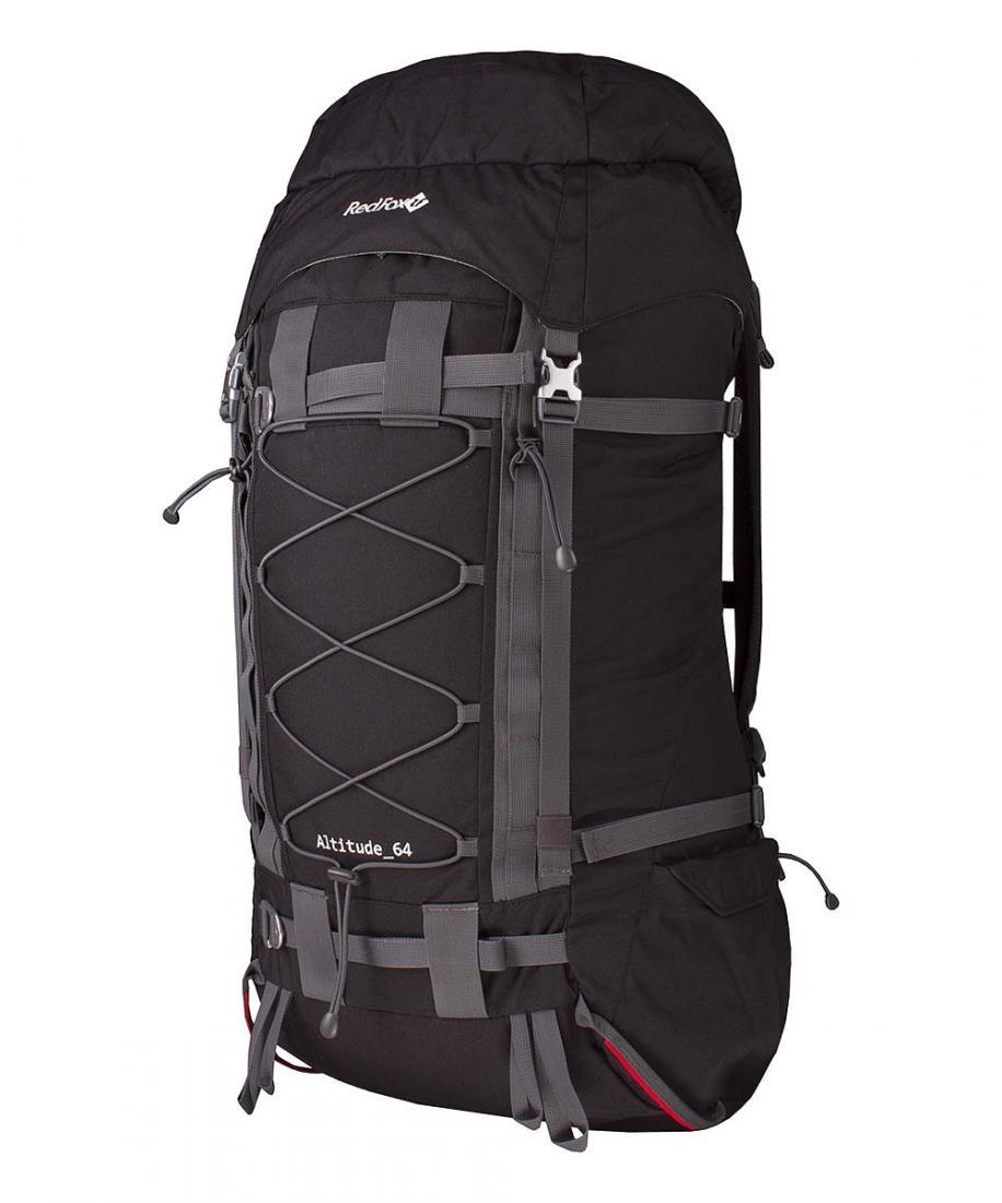 Рюкзак Altitude 64Рюкзаки<br><br> Рюкзак Altitude 64 – увеличенная версия штурмового рюкзака, разработанного для участников восхождения на К2 «Russian Expedition Direct West Face».<br><br><br>подвесная система со сниженным весом и повышенными прочностными характеристиками ал...<br><br>Цвет: Черный<br>Размер: 64 л