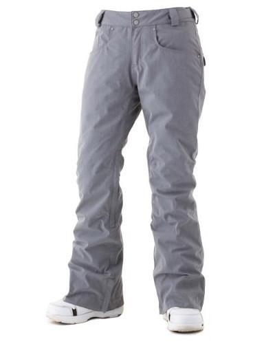 Брюки женские SWA2101 AKAKAБрюки, штаны<br>Стильные брюки для катания узкого силуэта. Эксклюзивный мембранный материал Surftex (8000 мм/8000 г/мм?)  не дает шансов не снегу, ни холоду. Утеплитель Thermosoft  сохраняет тепло и поддерживает максимальный уровень комфорта.<br><br>удобный ре...<br><br>Цвет: Серый<br>Размер: XL