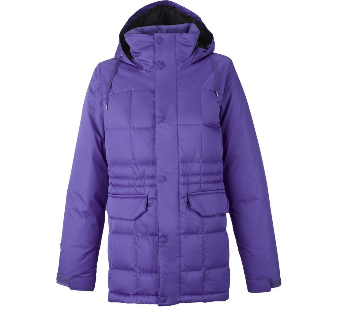Куртка WB AYERS DWN JK жен. г/лКуртки<br><br> Легкая, теплая, функциональная куртка AYERSDWNс яркой подкладкой создана для ценительниц активного зимнего отдыха и спорта. Ее можно назвать универсальной, поскольку модель отлично подойдет как для занятий сноубордингом, так и в качестве городского...<br><br>Цвет: Светло-фиолетовый<br>Размер: S