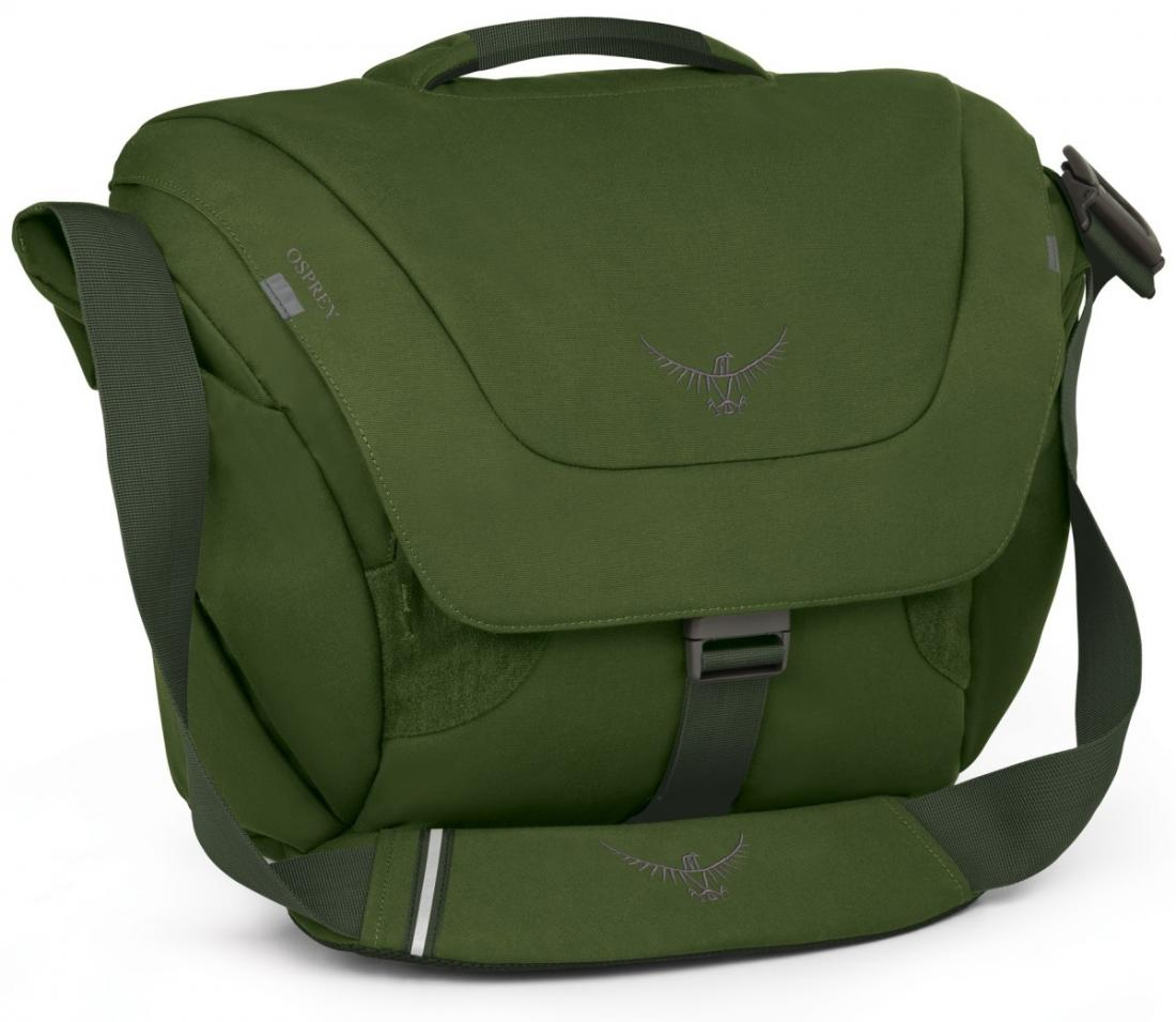 Сумка Flap Jack CourierСумки<br>Стильная и удобная сумка Flap Jack Courier имеет несколько функциональных особенностей, способных облегчить «жизнь на ходу. Откидной клапан с пр...<br><br>Цвет: Темно-зеленый<br>Размер: 20 л