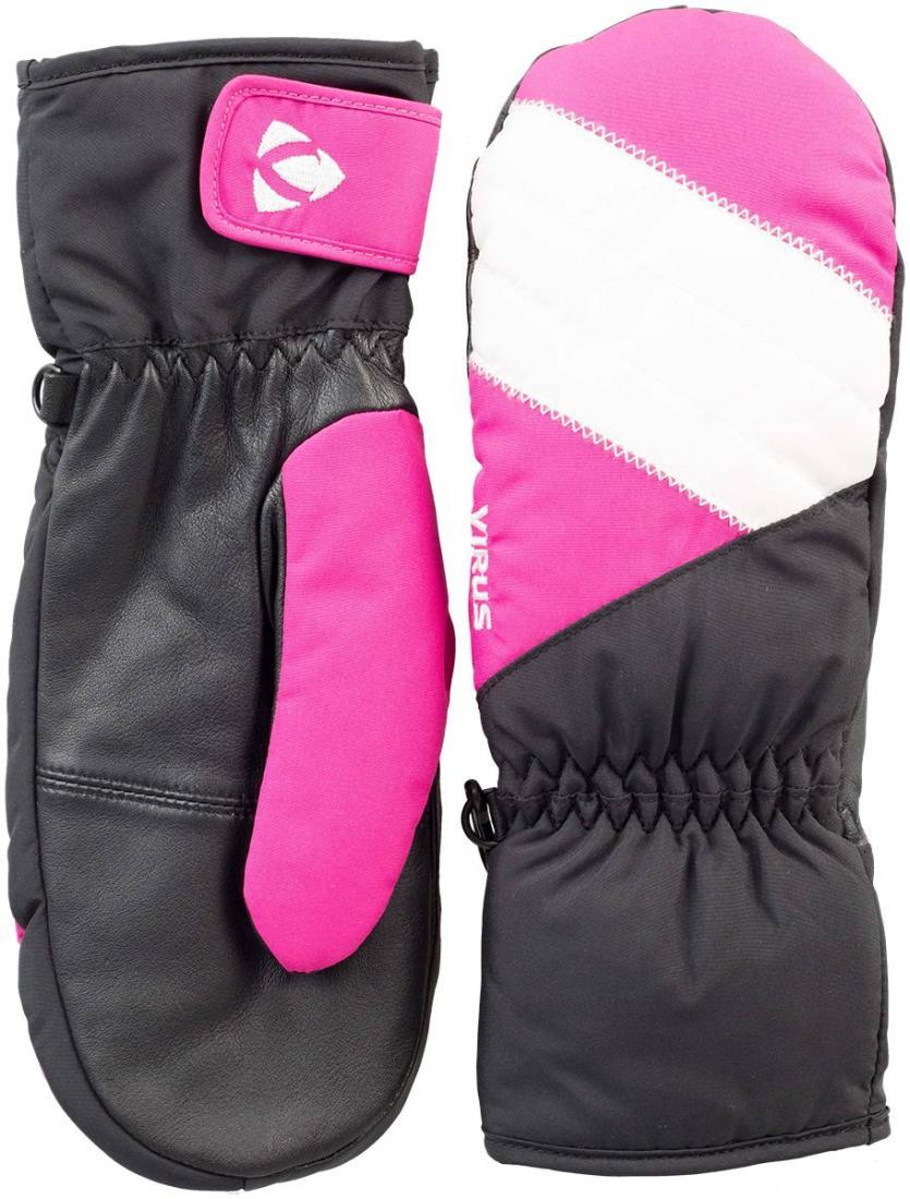 Рукавицы Fluff W женскиеВарежки<br>Женские рукавицы для комфортного пребывания в холодной среде. Утеплитель HyperLoft надежно сохраняет тепло внутри. Регулировка запястья допол...<br><br>Цвет: Черный<br>Размер: M