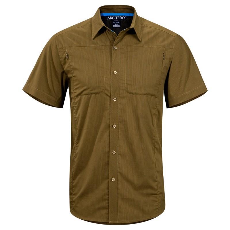 Рубашка Ridgeline SS муж.Рубашки<br>ХАРАКТЕРИСТИКА<br>Легкая рубашка из механически эластичного текстиля. <br><br><br>  <br><br><br>СФЕРА ПРИМЕНЕНИЯ<br><br>Горный туризм, п...<br><br>Цвет: Коричневый<br>Размер: S