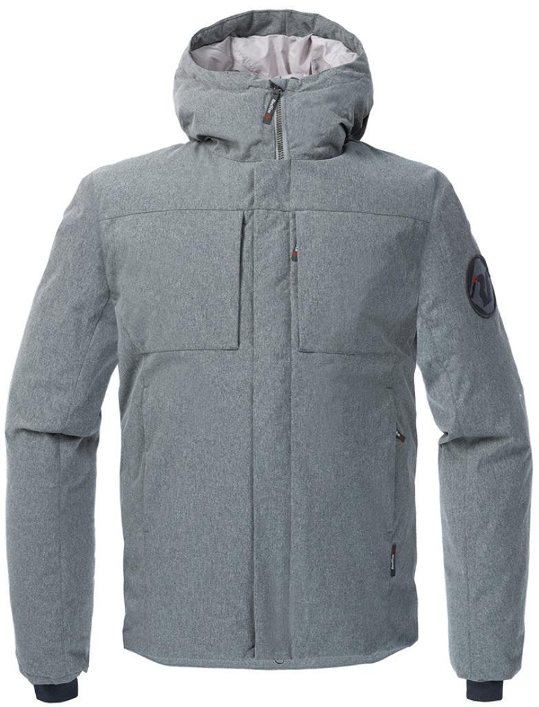 Полупальто пуховое Urban Fox МужскоеПальто<br><br> Пуховая куртка минималистичного дизайна из прочного материала c «m?lange» эффектом, обладает всеми необходимыми качествами, чтобы полнос...<br><br>Цвет: Серый<br>Размер: 54