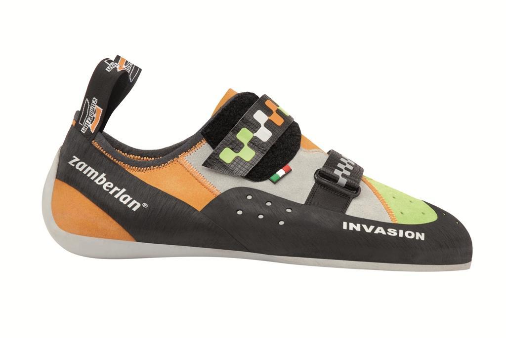 Скальные туфли A52 INVASIONСкальные туфли<br><br> Скальные туфли Invasion в своей конструкции ориентированы на использование на длинных трассах, чтобы обеспечить ногам комфорт даже после многих часов лазания. Invasion имеет более плоский профиль и слабую асимметрию. Широкая и удобная подошва.<br>...<br><br>Цвет: Зеленый<br>Размер: 40