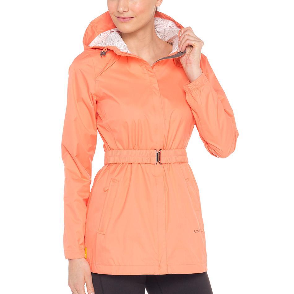 Куртка LUW0281 STRATUS JACKETКуртки<br><br><br><br> Непогода не повод отменять прогулку, если у вас есть стильная непромокаемая женская куртка Lole Stratus Ja...<br><br>Цвет: Оранжевый<br>Размер: S