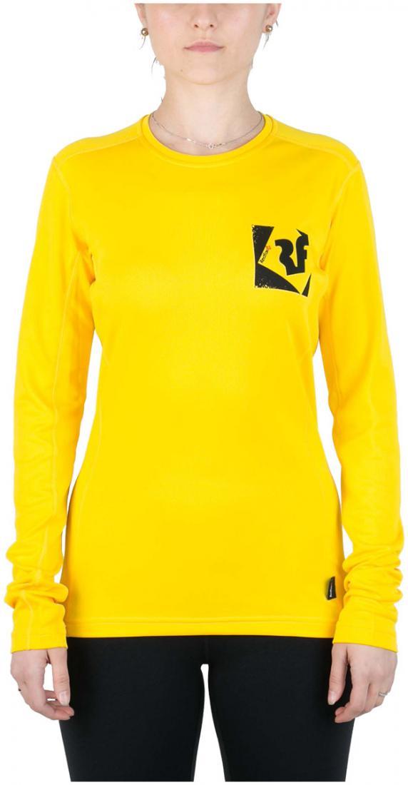 Футболка Trek T LS ЖенскаяФутболки, поло<br><br> Легкая и функциональная футболка, выполненная из влагоотводящего и быстросохнущего материала.<br><br><br>основное назначение: Горные п...<br><br>Цвет: Желтый<br>Размер: 46