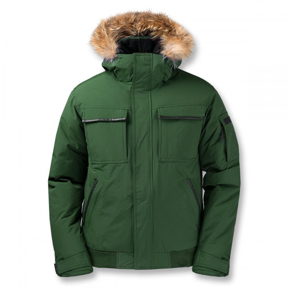 Куртка пуховая Logan IIКуртки<br>Укороченная мужская куртка с гусиным пухом. Непромокаемая верхняя мембранная ткань куртки для защиты пуха от влаги и укрепления теплозащи...<br><br>Цвет: Зеленый<br>Размер: 60