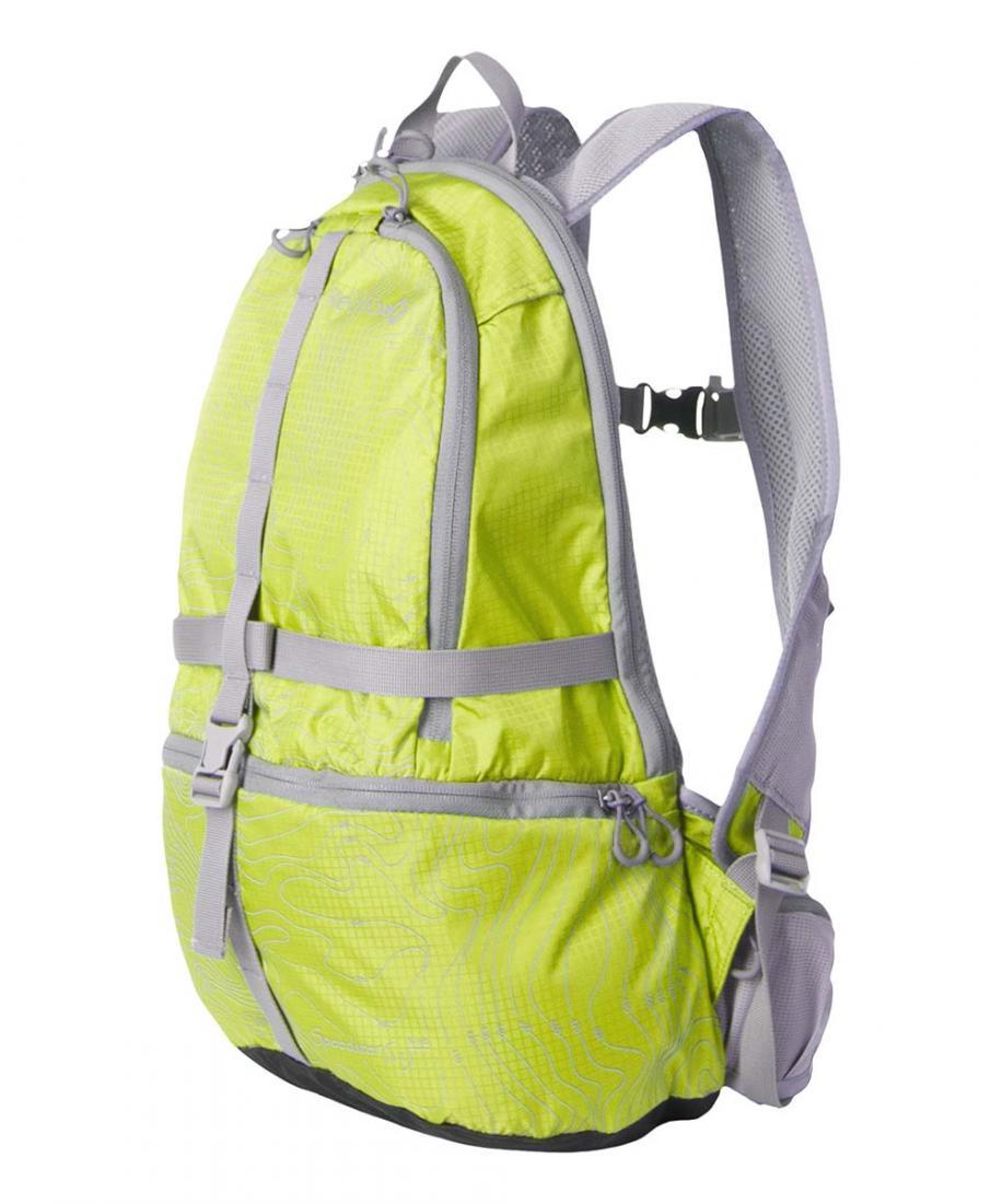 Рюкзак Speedster 11 R-1-BСпортивные<br><br>Speedster 11 R-1-B - легкий функциональный рюкзак для приключенческих гонок, велоспорта, беговых тренировок. модель отличается повышенной износостойкостью благодаря материалу Robic®.<br><br><br>материал: Robic 100D Check <br>подвесная ...<br><br>Цвет: Салатовый<br>Размер: 11 л
