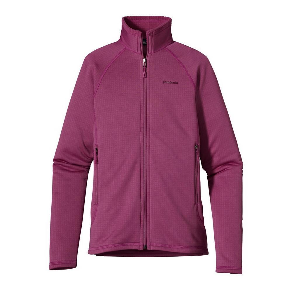 Куртка 40137 WS R1 FULL-ZIP JKTКуртки<br><br> Флисовый жакет Patagonia R1 Full-Zip создан для женщин, которые предпочитают зимние виды спорта и активный отдых. Модель дарит тепло и комфорт, и ...<br><br>Цвет: Фиолетовый<br>Размер: L