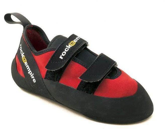 Скальные туфли KANREIСкальные туфли<br>Универсальные скальные туфли для продвинутых скалолазов. Идеальное сочетание комфорта, прочности и высокого качества. Подходят для лаза...<br><br>Цвет: Красный<br>Размер: 35