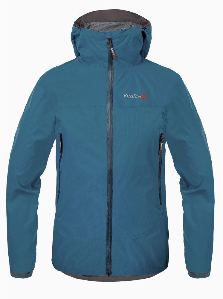 Куртка ветрозащитная Long Trek МужскаяКуртки<br><br><br>Цвет: Темно-синий<br>Размер: 56