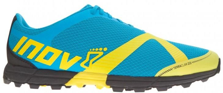 Inov-8 Кроссовки Terraclaw 220 муж. (8.5, Blue/Lime/Black, ,) inov 8 футболка at c tri blend ss strip w 6 black pink
