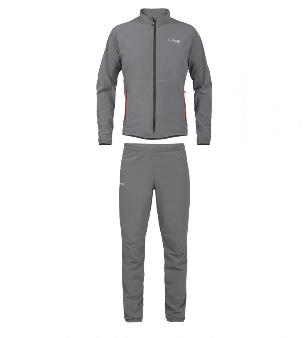 Костюм Active IIМужская<br><br> Классический спортивный костюм, выполнен из эластичного материала с высокими показателями отведения и испарения влаги, что позволяет использовать изделие для занятий активными видами спорта на открытом воздухе.<br><br><br>основное назначение...<br><br>Цвет: Темно-серый<br>Размер: 56