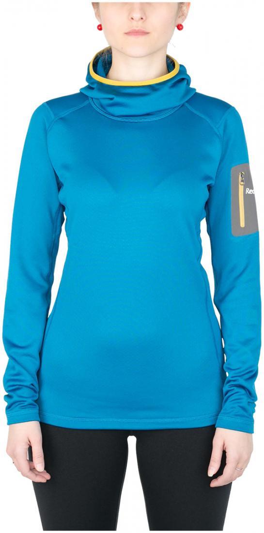 Пуловер Z-Dry Hoody ЖенскийПуловеры<br><br> Спортивный пуловер, выполненный из эластичногоматериала с высокими влагоотводящими характеристиками. Идеален в качестве зимнего термобелья илисреднего утепляющего слоя.<br><br><br>основное назначение: альпинизм, горный туризм.<br>м...<br><br>Цвет: Синий<br>Размер: 46