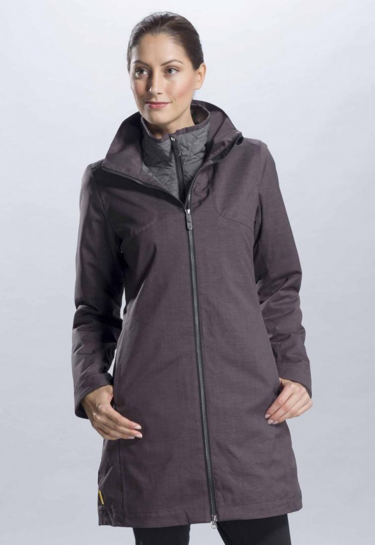 Куртка LUW0211 KATE JACKETКуртки<br><br> Оригинальная удлиненная куртка для осени и весны со съемным стеганым подкладом, который в случае теплой погоды можно отстегнуть, а при ...<br><br>Цвет: Темно-серый<br>Размер: M