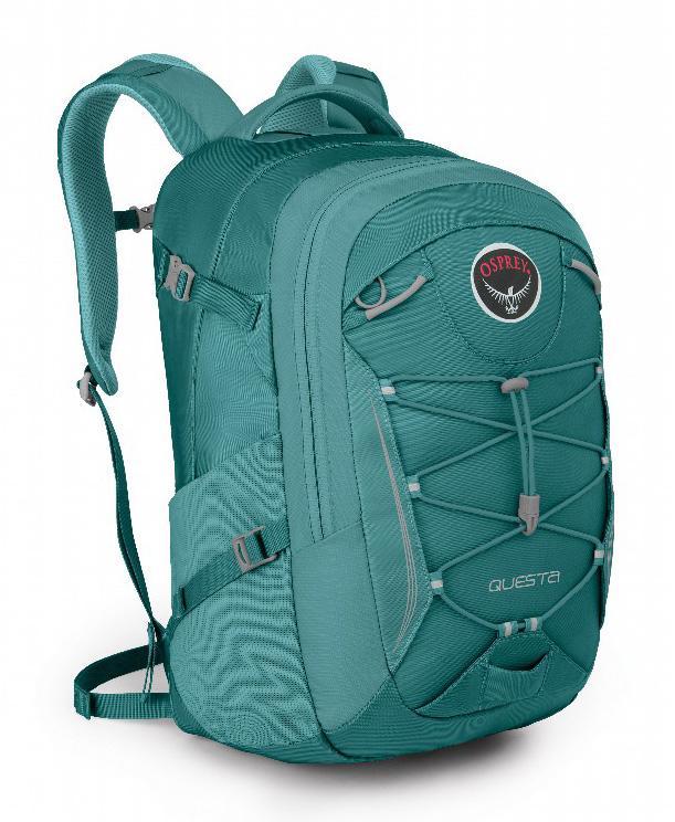 Рюкзак Questa 27Рюкзаки<br><br>Questa 27 - универсальный прочный женский рюкзак высокого качества с множеством функциональных особенностей, превосходной организацией внутреннего пространства и удобной спинкой. Мягкое отделение для ноутбука и планшета - надежное место для электрон...<br><br>Цвет: Зеленый<br>Размер: 27 л