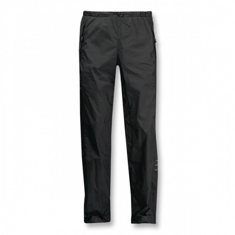Брюки ветрозащитные Trek Light IIБрюки, штаны<br>Сверхлегкие ветрозащитные брюки. Неоднократно протестированы на приключенческих гонках, где исключительно важен минимальный вес экипировки.Благодаря анатомическому крою и продуманным деталям, брюки обеспечивают необходимую свободу движений во время актив...<br><br>Цвет: Черный<br>Размер: 42