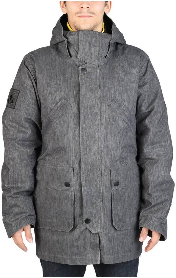 Куртка пуховая BlastКуртки<br><br> Модель Blast, флагман коллекции ViRUS 13/14, соответствует любимому принципу многих, потому что эта вещь 3-в-1. Верхняя легкая парка сделана из джинсы, покрытой ваксовым материалом. Внутренняя куртка набита пухом и имеет все функциональные особенно...<br><br>Цвет: Черный<br>Размер: 52