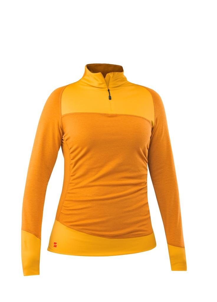 Пуловер Joy Shirt жен.Пуловеры<br><br> Joy Shirt – стильный женский пуловер из новой коллекции горнолыжного бренда Mountain Force. Благодаря оригинальным линиям кроя, умело расположен...<br><br>Цвет: Желтый<br>Размер: 42