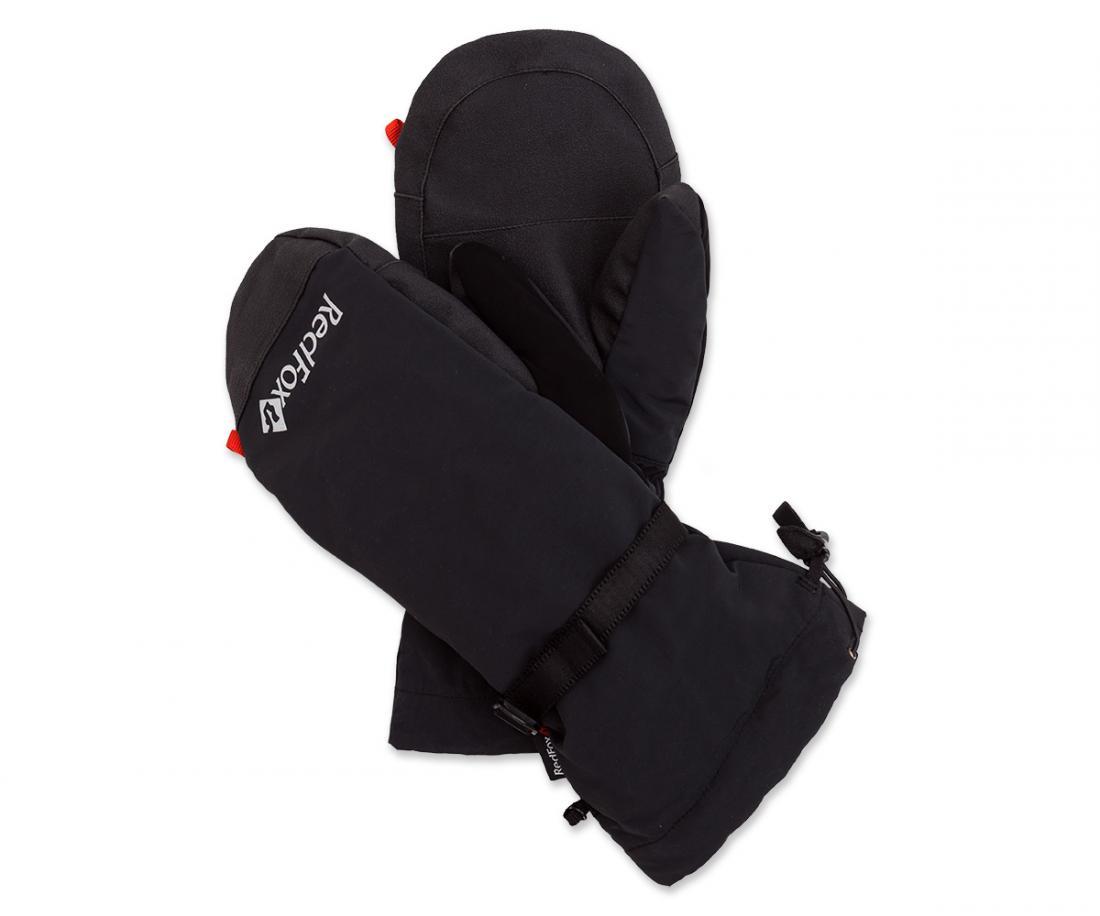 Рукавицы пуховые с верхонкамиВарежки<br><br> Удобные двойные рукавицы, выполненные из внутренней теплой пуховой рукавицы и съемной внешней рукавицы из прочной ткани.<br><br><br> Основные характеристики:<br><br><br><br>удлиненна форма, полность закрываща запстье<br>ласт...<br><br>Цвет: Черный<br>Размер: XL