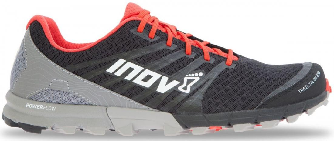 Inov-8 Кроссовки Trailtalon 250 (S) муж. (6, Black/Red/Grey, , ,) inov 8 футболка at c tri blend ss strip w 6 black pink