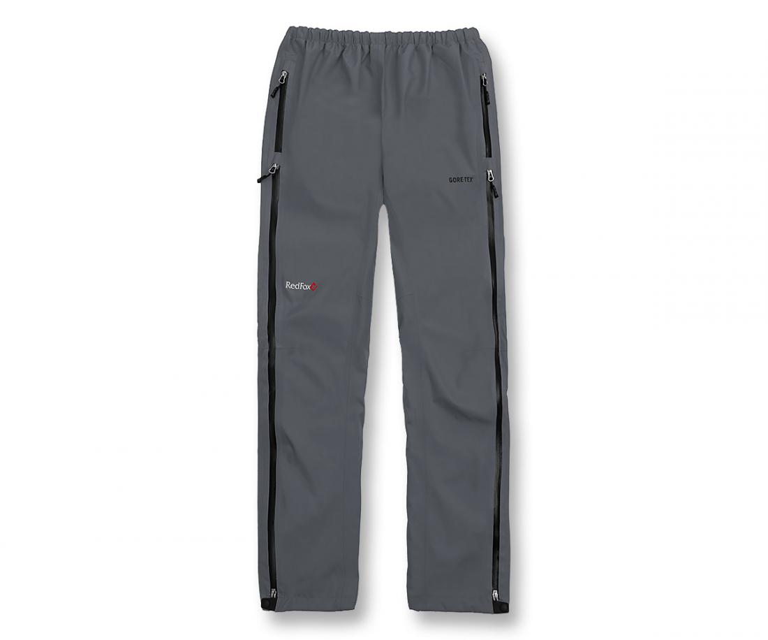 Брюки ветрозащитные Rain Fox Light GTXБрюки, штаны<br>Легкие штормовые брюки из серии Trekking.<br> <br><br>Материал – GORE-TEX® с технологией Paclite®.<br>Посадка – Regular Fit.<br>Непромокаемые молнии до верхней части брюк.<br>Регулировка объема в талии.<br>Основн...<br><br>Цвет: Темно-серый<br>Размер: 56