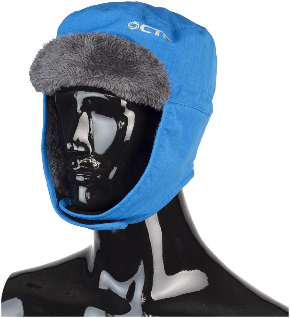 Шапка HEADWALL TYROLШапки<br>Шапка ушанка, которая позволит чувствовать себя комфортно в любой ситуации.<br><br><br>Шапка сделана из водо-, ветро-, снего- защитного материала.<br>утеплитель - 70g Thinsulate, обеспечивает тепло в любых условиях<br>застежки-ли...<br><br>Цвет: Голубой<br>Размер: M-L