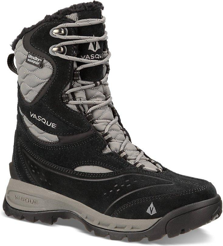 Ботинки жен. 7811 Pow Pow 2Треккинговые<br>Pow Pow II - это «пуховка для ваших ног». Зимние ботинки с подкладкой из овчины, утеплителем 400 г 3M™ Thinsulate™ Ultra и стелькой EVA двойной плотности для устойчивости. Верх из прочной кожи и простроченной таффеты для тепла и длительного срока служб...<br><br>Цвет: Черный<br>Размер: 10