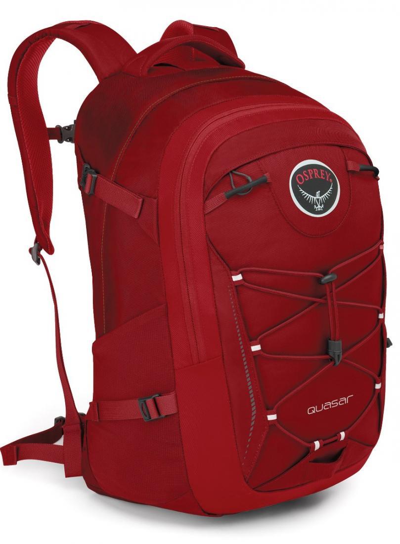 Рюкзак Quasar 28Рюкзаки<br>Обновленный рюкзак городской серии, в разработке которого бесспорно учли многолетний опыт создания рюкзаков Osprey.<br>Quasar 28 - универсальный прочный рюкзак высокого качества с множеством функциональных особенностей, превосходной организацией внутрен...<br><br>Цвет: Красный<br>Размер: 28 л