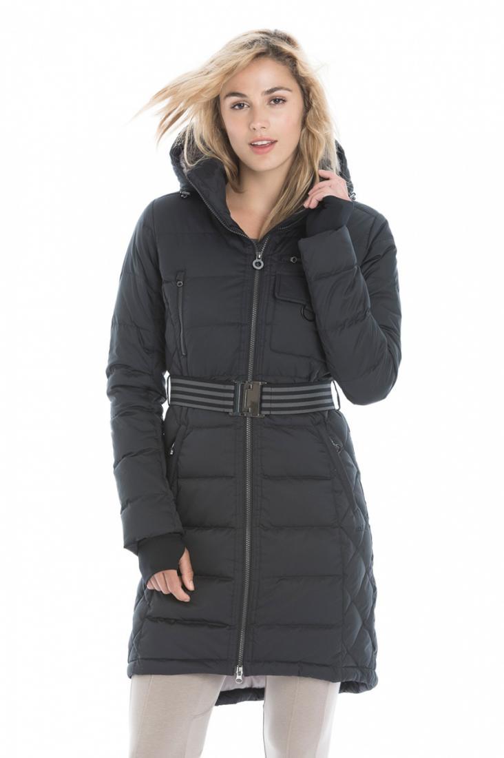 Куртка LUW0309 EMMY JACKETКуртки<br><br> Пуховое пальто Emmy - это must have для активных будней или путешествий в холодную погоду. Стильный удлиненный силуэт и стеганный дизайн создают изящный и легкий образ.Модель выполнена из влаго- и ветроустойчивого материала , надежно защитит от вет...<br><br>Цвет: Черный<br>Размер: S