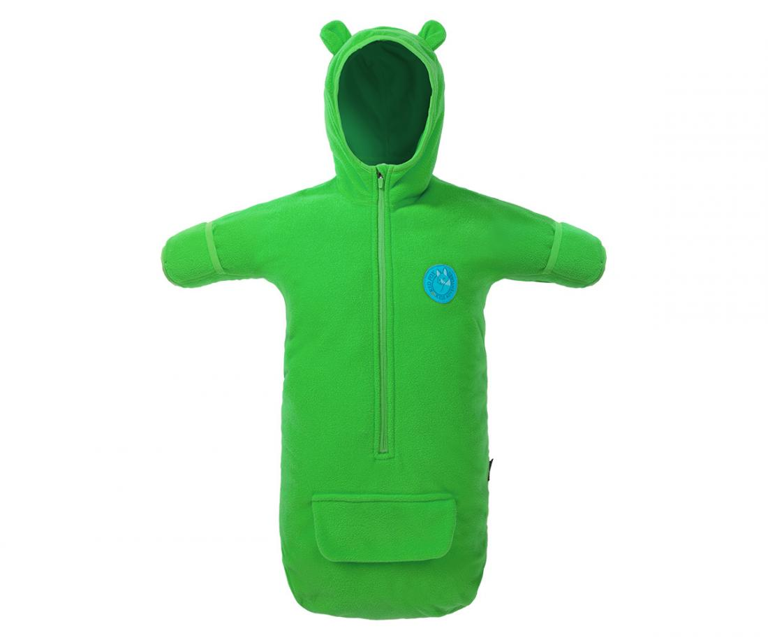 Конверт Teddy Bear ДетскийКонверты<br>Флисовый конверт с капюшоном и рукавами для детей от 0 до 6 месяцев.<br> <br><br>Материал – Polar Fleece.<br> <br>Длинная центральная молния.<br>...<br><br>Цвет: Салатовый<br>Размер: S(0-6м)