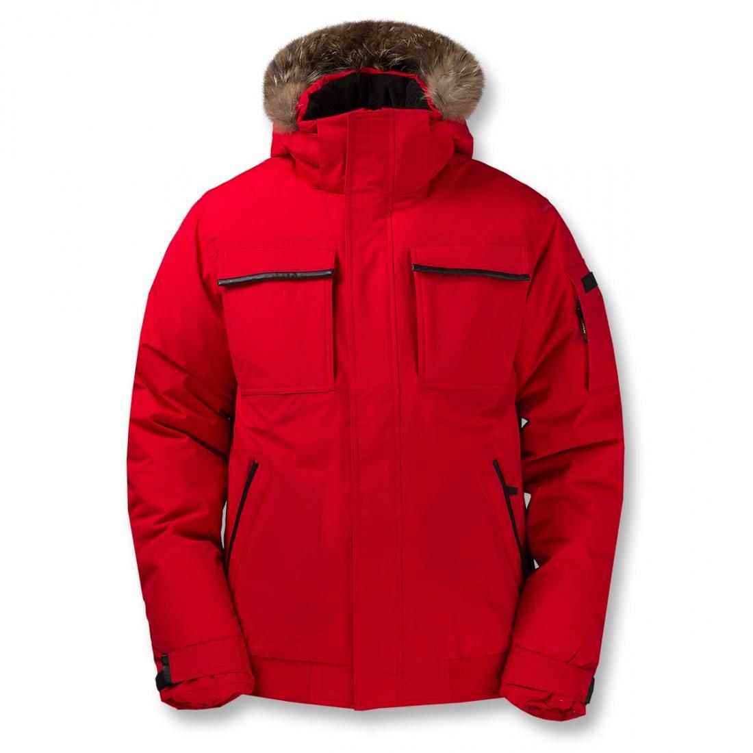 Куртка пуховая Logan IIКуртки<br>Укороченная мужская куртка с гусиным пухом. Непромокаемая верхняя мембранная ткань куртки для защиты пуха от влаги и укрепления теплозащитных свойств.<br> <br><br>Серия Life Style/ пуховая одежда<br>Горы, экспедиции, походы, экстремальн...<br><br>Цвет: Красный<br>Размер: 60