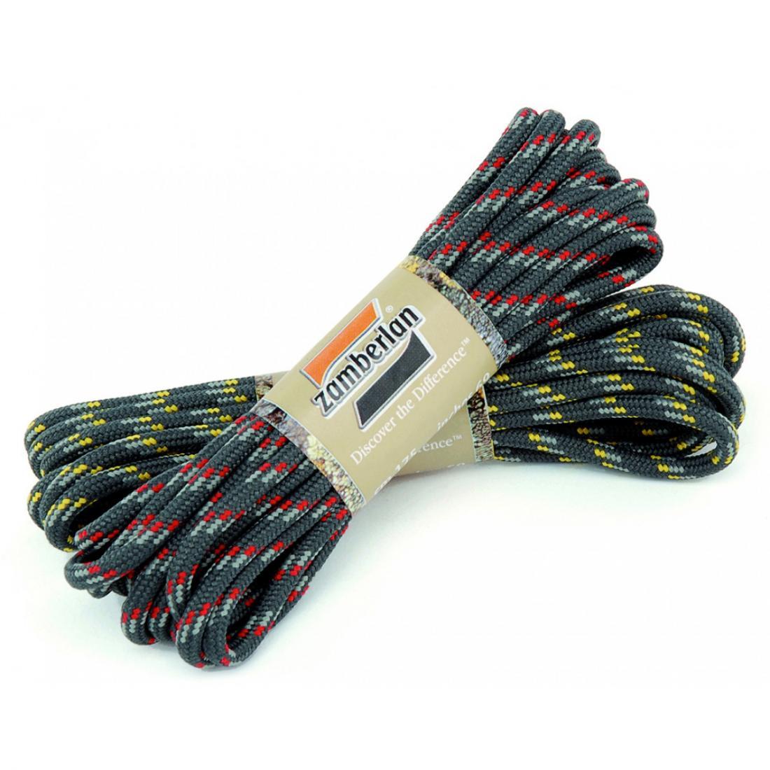 Шнурки круглые CMS.Шнурки<br>Шнурки Zamberlan® производятся из особо прочной синтетической ткани и полиэстеровых нитей, сохраняющих свою молекулярную структуру при возд...<br><br>Цвет: Черный<br>Размер: 190