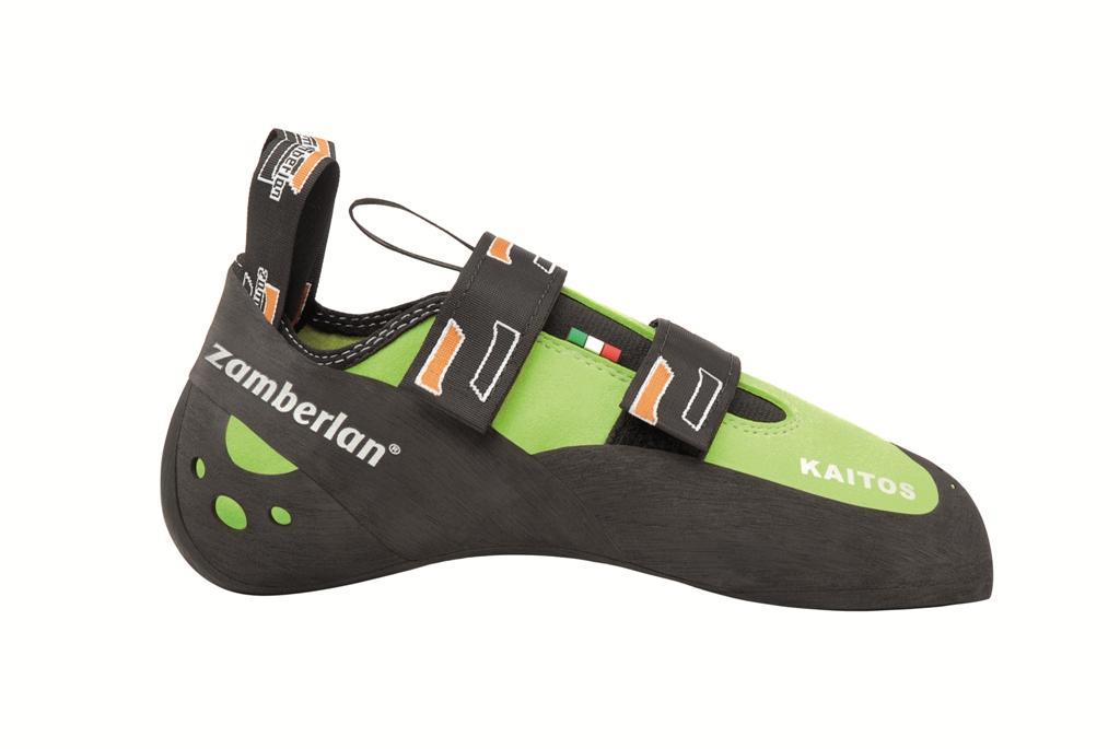 Скальные туфли A44 KAITOSСкальные туфли<br><br> Эти скальные туфли идеальны для опытных скалолазов. Колодка этой модели идеально подходит для менее требовательных, но владеющих высоким уровнем техники скалолазов, которые нуждаются в многофункциональном снаряжении. Эту модель отличает более сглаж...<br><br>Цвет: Салатовый<br>Размер: 38