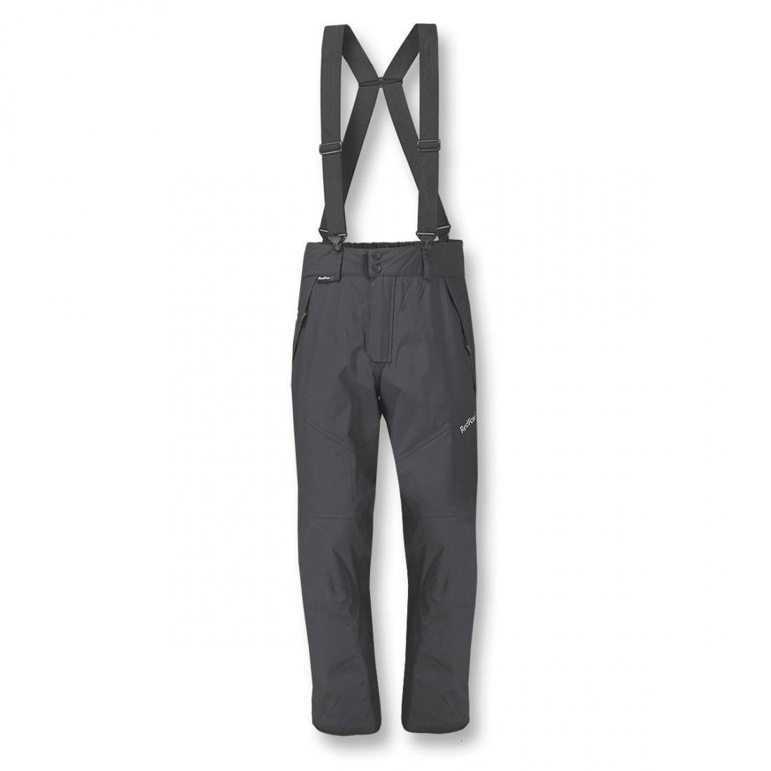Брюки ветрозащитные Alpine 06Брюки, штаны<br>Легкие штормовые брюки-самосбросы из серии Mountain Sport вместе с ветрозащитной курткой Alpine Ascent 09 образуют удобный современный комплект для спортсменов и любителей активного отдыха. <br><br> <br> Специальные уси...<br><br>Цвет: Темно-серый<br>Размер: 54
