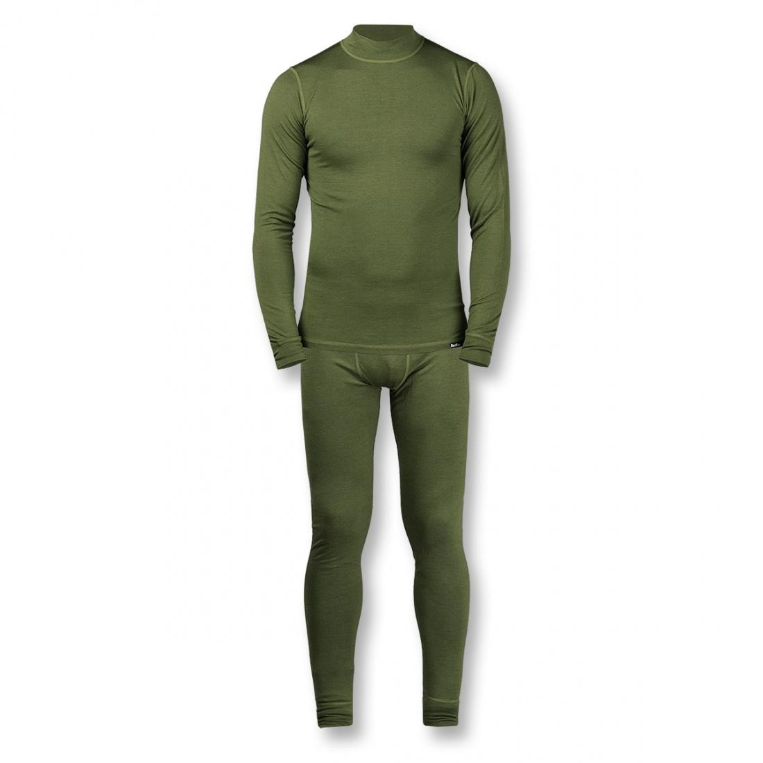 Термобелье костюм Wool Dry Light МужскойКомплекты<br><br><br>Цвет: Зеленый<br>Размер: 56