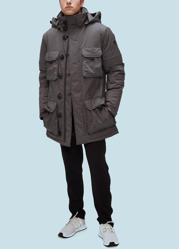 фото Куртка мужская Talc ThinDown 58D M Coyote 58 cm