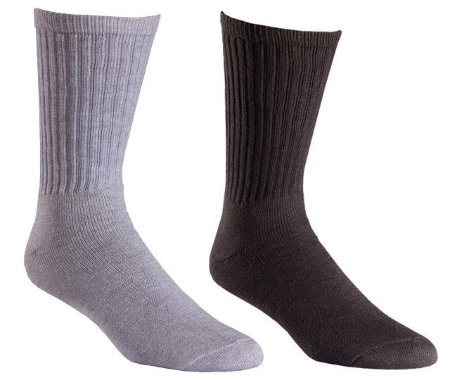 Носки рабочие 6546-6 Rugged CrewНоски<br><br> Хлопковые носки для повседневного использования. Обеспечивают комфорт при умеренной и жаркой погоде.<br><br><br>Натуральный хлопок эфф...<br><br>Цвет: Серый<br>Размер: L