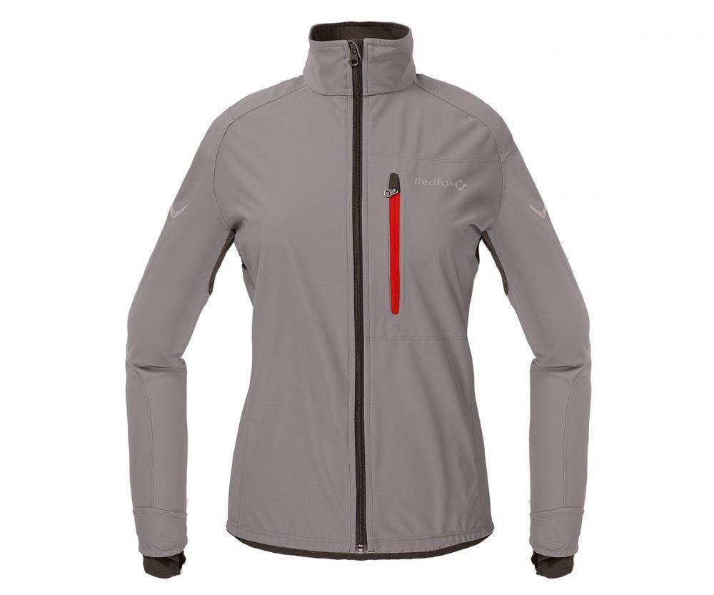 Куртка Active Shell ЖенскаяКуртки<br><br> Cпортивная куртка для высокоактивных видов спорта в холодную и ветреную погоду. Предназначена для использования на беговых тренировка...<br><br>Цвет: Темно-серый<br>Размер: 44