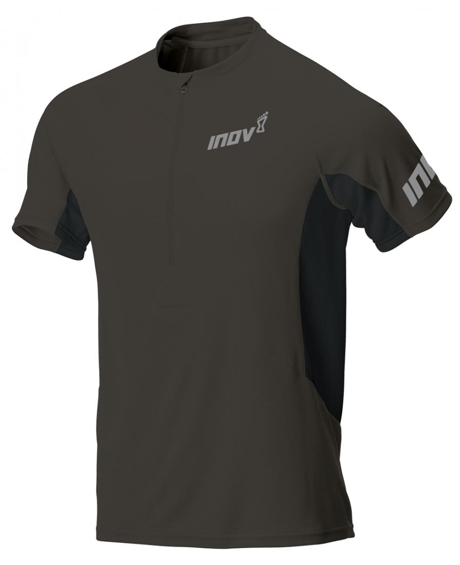 Inov-8 Футболка Base Elite SSZ M (XS, Phantom/Black, ,) inov 8 футболка base elite ssz m xs phantom black