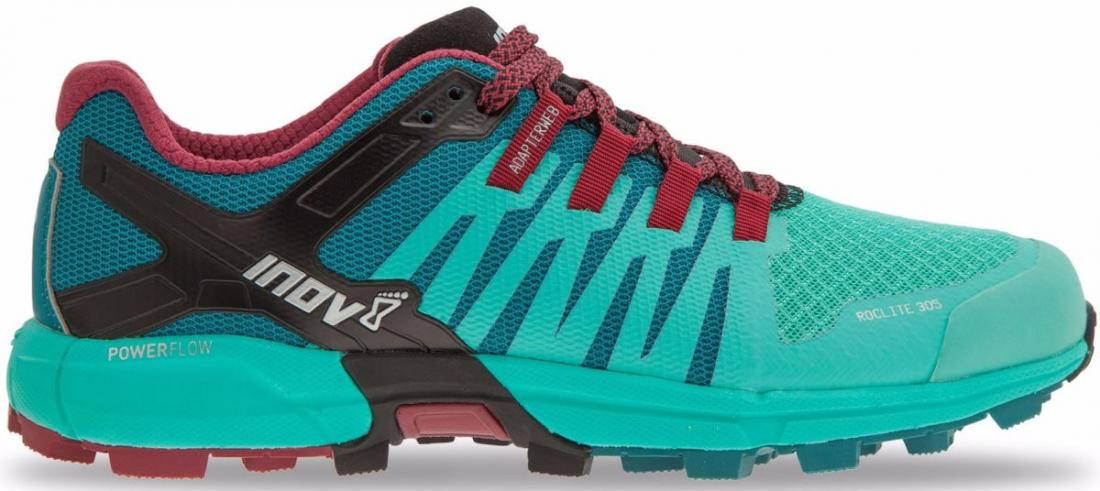 Inov-8 Кроссовки Roclite 305 жен. (5, Teal/Red/Black, , ,) inov 8 футболка base elite lsz w xl barberry