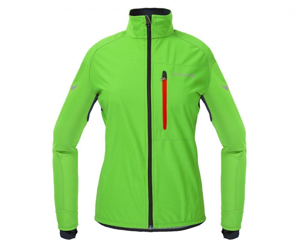 Куртка Active Shell ЖенскаяКуртки<br><br> Cпортивная куртка для высокоактивных видов спорта в холодную и ветреную погоду. Предназначена для использования на беговых тренировка...<br><br>Цвет: Салатовый<br>Размер: 44