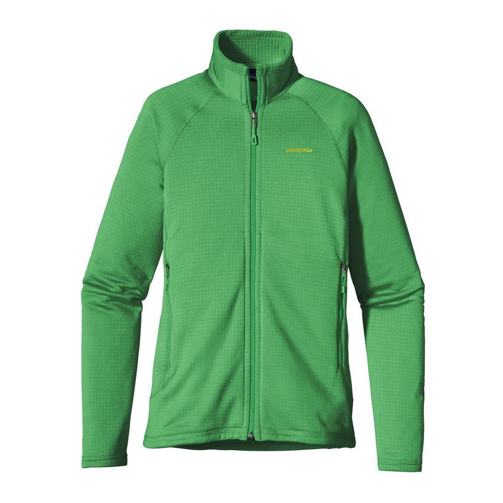 Куртка 40137 WS R1 FULL-ZIP JKTКуртки<br><br> Флисовый жакет Patagonia R1 Full-Zip создан для женщин, которые предпочитают зимние виды спорта и активный отдых. Модель дарит тепло и комфорт, и ...<br><br>Цвет: Светло-зеленый<br>Размер: L
