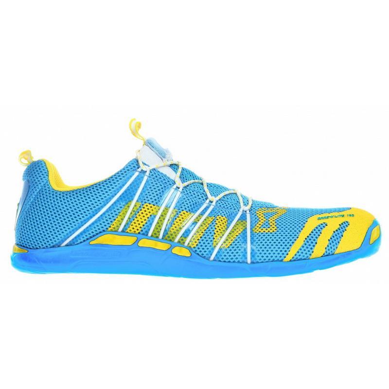 Кроссовки Bare-x lite™ 150Бег, Мультиспорт<br>Самая легкая обувь из серии Road. Бесшовный верх и быстрая система шнуровки идеально подходят для длинных забегов и триатлона. Низкопрофильная подошва Fusion делает обувь легкой, и широкая область контакта обеспечивает мягкость движений. <br> <br>&lt;div...<br><br>Цвет: Голубой<br>Размер: 4.5