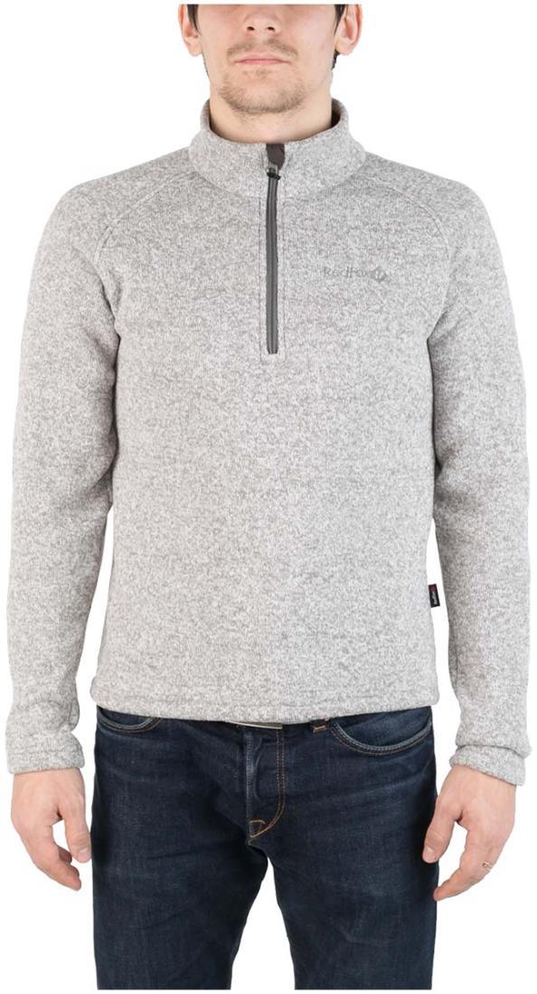 Свитер AniakСвитеры<br><br> Комфортный и практичный свитер для холодного времени года, выполненный из флисового материала с эффектом «sweater look».<br><br><br> Основные характеристики:<br><br><br>воротник стойка<br>рукав реглан для удобства движений...<br><br>Цвет: Серый<br>Размер: 56