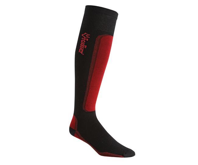 Носки лыжные 5997 VVS LV SKIНоски<br><br> Сочетание роскошных натуральных волокон мериносовой шерсти и шелка обеспечивают анатомическую посадку и удобство при катание со склонов. Натуральные волокна естественным образом отводят влагу, сохраняя ноги в тепле и комфорте. Что может быть лучше?...<br><br>Цвет: Красный<br>Размер: M
