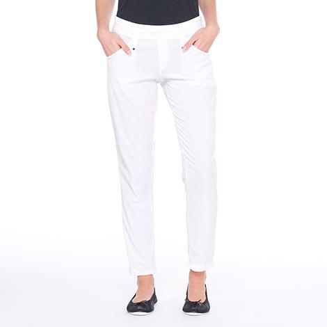 Брюки LSW1214 GATEWAY PANTSБрюки, штаны<br><br><br> Простой и элегантный крой Gateway Pants от Lole делает их идеальным вариантом для путешествий и повседневной носки. Модель LSW1214 отлично сидит на талии и не стесняет движения. <br> ...<br><br>Цвет: Белый<br>Размер: M